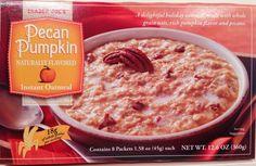 trader joe's pumpkin oatmeal