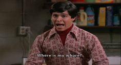 Fez That 70s Show, That 70s Show Quotes, Thats 70 Show, Tv Show Quotes, Eric Forman, Looks Cool, Best Shows Ever, Reaction Pictures, Best Tv