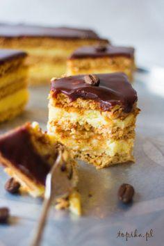 Baklava Cheesecake, Cheesecake Recipes, Dessert Recipes, Dessert Ideas, My Dessert, Eat Dessert First, Sweet Pastries, Polish Recipes, Specialty Cakes