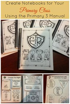 LDS Notebooking: Create Notebooks for Your Primary Class Using the Primary 3 Manual