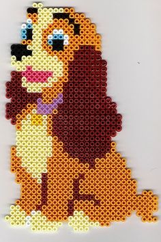 Lady Disney hama beads - DOMINELLE DECOUPAGE