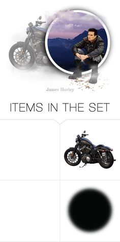 """""""James Hurley"""" by annette-heathen ❤ liked on Polyvore featuring art and twinpeaks"""