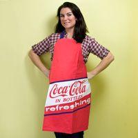 Coca-Cola Red Chef Apron