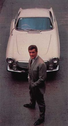 Volvo P1800 Roger Moore James Bond