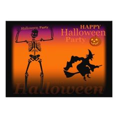Invitation Halloween - party gifts gift ideas diy customize