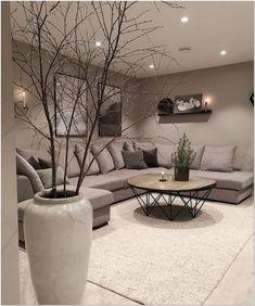 Living room designs – Home Decor Interior Designs Living Room Decor Cozy, Elegant Living Room, Living Room Interior, Home Living Room, Apartment Living, Living Room Designs, Modern Living, Cozy Living, Small Living