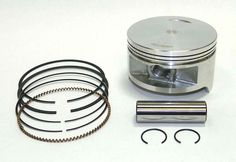 WSM Honda 420 TRX 2007-2015 Piston Kit 50-231K, OE 13101-HP5-600 #Honda