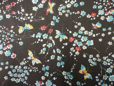 QUALITY COTTON LAWN BUTTERFLY PRINT 137CM WIDE | eBay