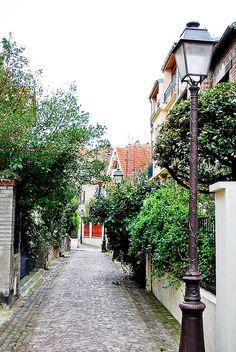 Le quartier de Mouzaïa, Paris 19eme