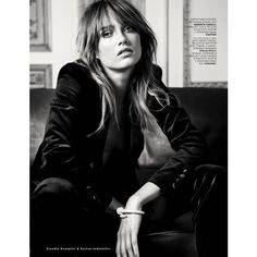 Karmen Pedaru Is Sexy Bohemian By Knoepfel Indlekofer For Vogue Russia August 2013 found on Polyvore
