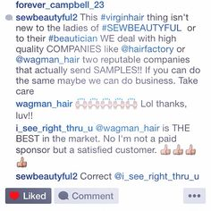 The love is real!! #wagmanhair #teamwags #indianremy #chineseremy #extensions #weave www.wagmanhair.com