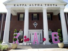 Kappa Alpha Theta at UCF - I was honored to be this chapter's first advisor!  Long before the house - there was love!