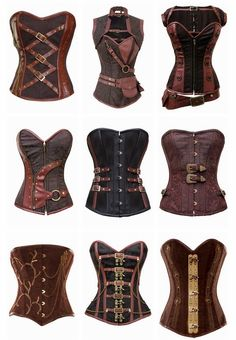 Steampunk Corsets Look & Feel Hot in a New Sexy Corset or Bustier - Sexy women in sexy Lingerie