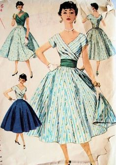 1950's Fashion Design