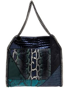 Standout! Animal print leather handbag!