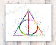 Hey, I found this really awesome Etsy listing at https://www.etsy.com/listing/195927984/harry-potter-deathly-hallows-print