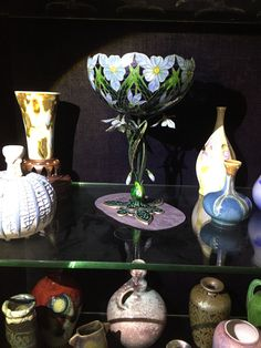 Snowdrop cup by Torolf Prytz, 1900. This is the second known example. The other one is in the National Museum in Oslo.