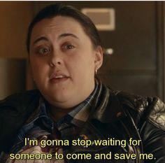 Rae. My Mad Fat Diary Season 3 Episode 3