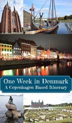 One Week in Denmark: A Copenhagen Based Itinerary – It's a Schmahl World Visit Denmark, Denmark Travel, Europe Travel Tips, Travel Guide, Travel Advise, Travel Ideas, Tivoli Gardens Copenhagen, Copenhagen Travel, Best Cities