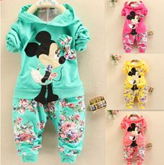 Cheap minnie mouse clothes set, Buy Quality clothing sets directly from China clothes set Suppliers: 2015 Spring Autumn baby girls christmas outfits Sport suit clothing set children hoodies pants kids minnie mouse clothes sets Girls Christmas Outfits, Baby Girl Christmas, Baby Girl Tracksuits, Denim Pants Outfit, Baby Pullover, Girl Sleeves, Autumn Clothes, Cute Toddlers, Kids Coats