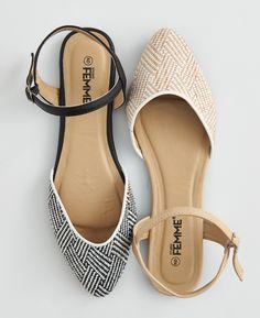 Ladies Flats / Chaussures à talon plat pour dames