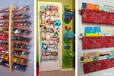 Pote da calma Container Organization, Toy Organization, Organizing, Diy Bottle, Bottle Crafts, Boy And Girl Shared Room, Baby Playroom, Ideas Para Organizar, Diy Pallet Projects