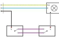 elektroinstallation schaltzeichen verstehen. Black Bedroom Furniture Sets. Home Design Ideas