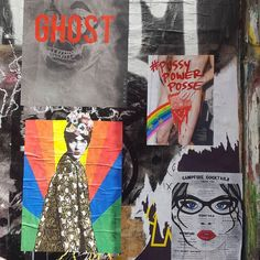Out and about pasting this weekend - check the tags for work attribution  #hellothemushroom #londonstreetart #streetartlondon #shoreditch #pasteup #pasteupart #ssosva #ghostcollective #pussypowerposse