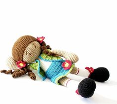 Hey, I found this really awesome Etsy listing at https://www.etsy.com/listing/99151586/crocheted-doll-with-turquoise-skirt-and