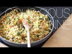 Vegetarische Couscous-Pfanne