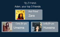Check my results of Find Your Top 3 Friends Facebook Fun App by clicking Visit Site button