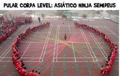 Saltar à corda, Nível –> Ninja  Veja mais em: http://www.jacaesta.com/saltar-a-corda-nivel-ninja/