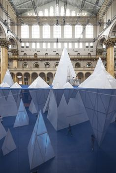 Gallery of James Corner Field Operations' ICEBERGS Brings the Chill to the National Building Museum - 11