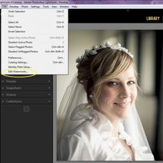 4 Easy Steps for Creating a Watermark in Lightroom. www.lightroompresets.com (Photo Credit Gayle Vehar from Mom and Camera)