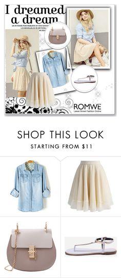 """Romwe 1/VI"" by nermina-okanovic ❤ liked on Polyvore featuring Chicwish and romwe"