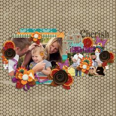 """Created using """"Layered With Love template set 14"""" by Seatrout Scraps http://www.thedigichick.com/shop/Layered-with-Love-Templates-Set-14.html and Thankful for Family By Meagan's creations http://www.thedigichick.com/shop/Thankful-for-Family-by-Meagan-s-Creations-and-Melissa-Bennett-Designs.html"""