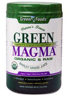 Green Foods Green Magma® Barley Grass Juice Powder -- 10.6 oz - Vitacost