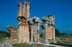 The excursion to #ancient #philippoi starts at 8:00 am from the central square of #Asprovalta.