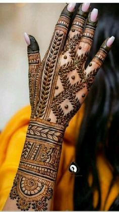 Mehndi Designs Front Hand, Latest Bridal Mehndi Designs, Stylish Mehndi Designs, Full Hand Mehndi Designs, Mehndi Designs For Girls, Mehndi Designs For Beginners, Mehndi Design Photos, Wedding Mehndi Designs, Mehndi Designs For Fingers
