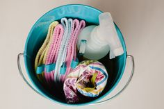 create a cleaning kit for kids