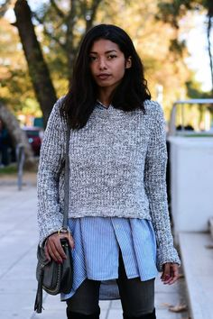 how to wear over the knee boots with jeans casual inspiration