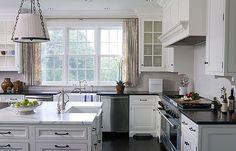 #short curtains #kitchen #window