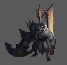 ArtStation - assault monster concept, kim sehoon