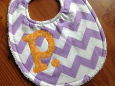 Personalized baby bib by lainabelle on Etsy, $12.00