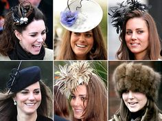 What is a Fascinator? By definition, A fascinator is a headpiece, Fashion Hub, Royal Fashion, English Hats, Kate Middleton Hats, Derby Outfits, Hats For Women, Ladies Hats, Ladies Wear, Wedding Fascinators