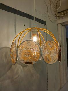 Redesigned lamp. Ceiling Lights, Lighting, Home Decor, Decoration Home, Room Decor, Lights, Outdoor Ceiling Lights, Home Interior Design, Lightning