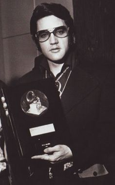 Elvis Presley -  Bing Crosby Music Award