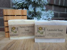 Cute and classy gift idea! All-natural soap sets, vegan soap, essential oil soap, unscented soap, stocking stuffers, coworker or hostess gift. https://www.etsy.com/shop/joyismystrengthsoap