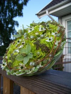 green bouquet - grüner Strauss