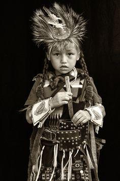Isaiah Florenda, Warm Springs Tribe. Joni Kabana Photography